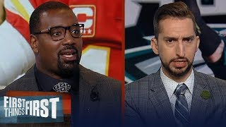 Nick Wright shuts down the Carson Wentz vs. Patrick Mahomes comparison   NFL   FIRST THINGS FIRST