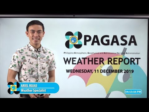 Public Weather Forecast Issued at 4:00 PM December 11, 2019