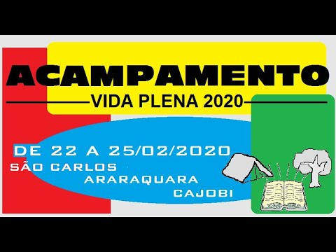 Crianças Araraquara - Acampamento 2020
