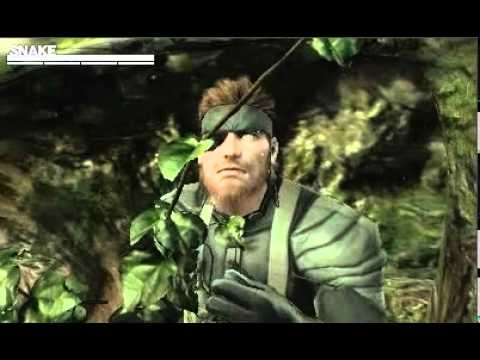Trailer: Metal Gear Solid 3 On 3DS