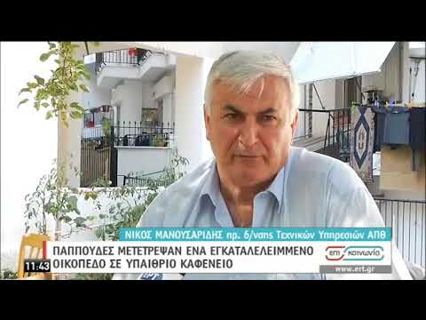 Παππούδες μετέτρεψαν εγκατελελειμμένο οικόπεδο σε υπαίθριο καφενείο | 09/09/2020 | ΕΡΤ