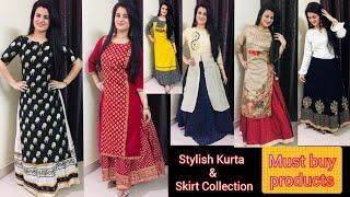💥My Long Skirts Collection💥||💥Flipkart & Myntra Shopping Haul💥|| Branded Cotton & Silk Long Skirts
