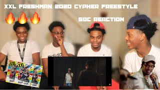 What Did Fivio Just Say???...XXL Freshman 2020 Cypher Freestyles (SBC REACTION)