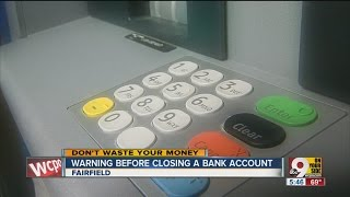When to close checking account