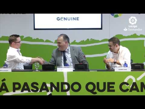 Watch video Resumen rueda de prensa de la LaLiga Genuine