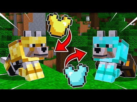 HOW TO GET WOLF ARMOR IN MINECRAFT!!... (*ACTUALLY WORKS*)