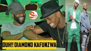TAZAMA: FALLY IPUPA Akimfunza DIAMOND Kucheza NYONGA KIBASKELI | INAMA OFFICIAL VIDEO