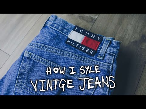 HOW I STYLE: VINTAGE JEANS (STRAIGHT/SLIM FIT)