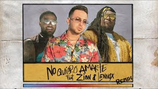 Belly - No Quiero Amarte -    Justin Quiles Ft. Zion & Lennox