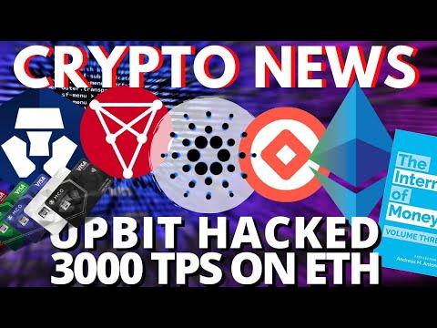 BREAKING UpBit Korean Exchange HACKED | Ethereum Istanbul | Cardano Haskell | Tael WABI | Chiliz CHZ