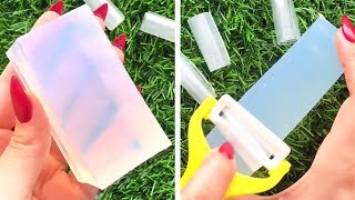 Clear Glycerin Soap Cutting | Soap Cubes | Relaxing | Oddly Satisfying ASMR #2