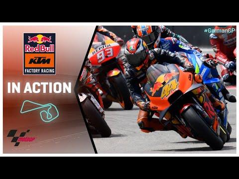 KTM in action: HJC Helmets Motorrad Grand Prix Deutschland