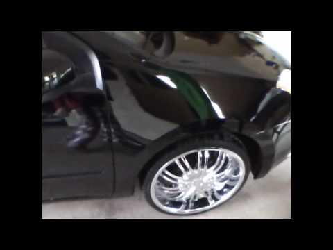 2007 nissan sentra on bad ass rims must see!!!!!!!!