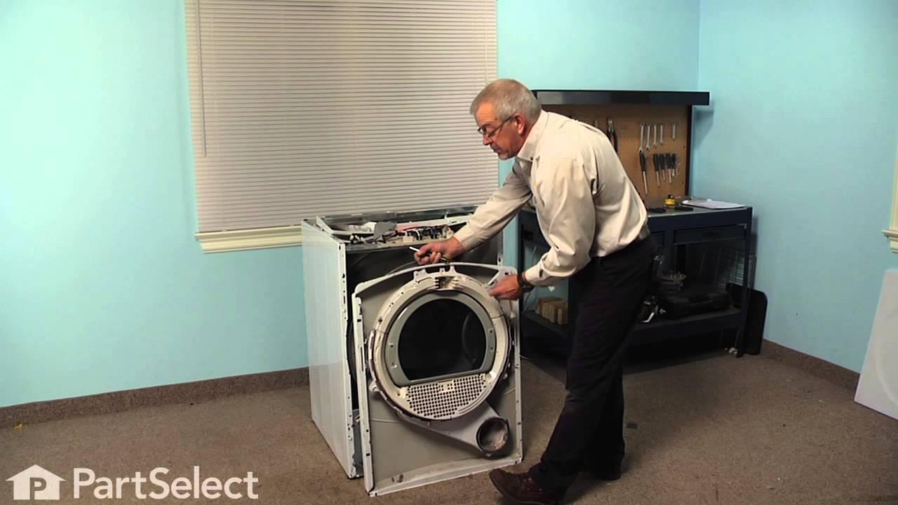 Replacing your General Electric Dryer Drum Bearing Slide - Green