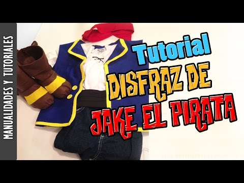 TUTORIAL DISFRAZ DE JAKE EL PIRATA, HALLOWEEN -Los290ss