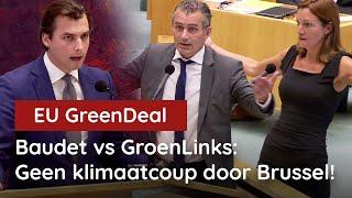 Baudet vs GroenLinks: EU-Klimaatwet nóg duurder en nóg zinlozer!
