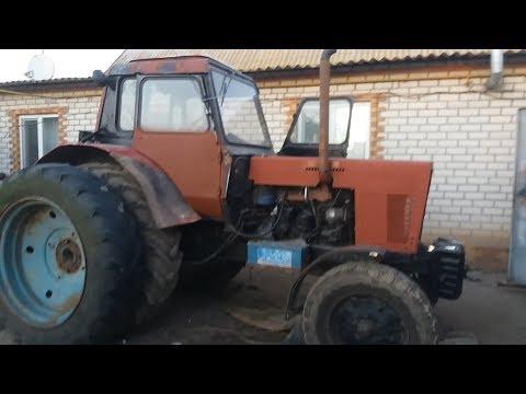 Ремонт трактора МТЗ 80 (ремонт малой кабины) (часть3)+проставки и спарки