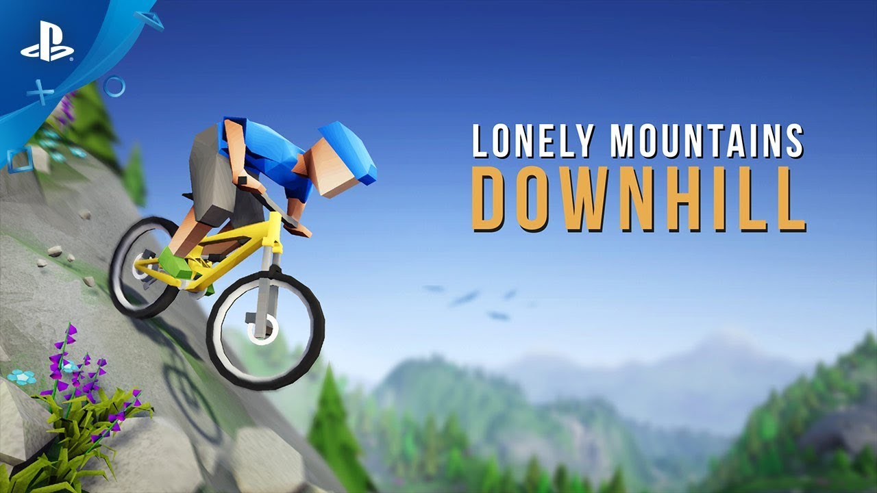 Lonely Mountains: Downhill Races to PS4 October 23, Night Mode Revealed