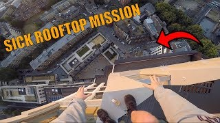 SICK ROOF MISSION IN LONDON *WE AVOIDED WORKERS*