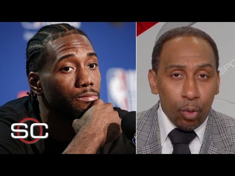 Kawhi Leonard will make his decision 'when he damn well feels like it' - Stephen A. | SportsCenter