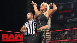 After Emma created some backstage drama between Dana Brooke and Alicia Fox, the two friends-turned-rivals collide on Raw.#RAWMore ACTION on WWE NETWORK : http://wwenetwork.comSubscribe to WWE on YouTube: http://bit.ly/1i64OdTMust-See WWE videos on YouTube: https://goo.gl/QmhBofVisit WWE.com: http://goo.gl/akf0J4