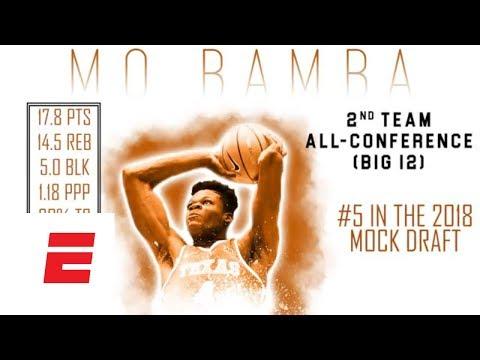 Mohamed Bamba 2018 NBA Draft Scouting Video | DraftExpress | ESPN
