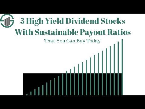 5 High Yield Stocks With Sustainable Payout Ratios to Buy Today