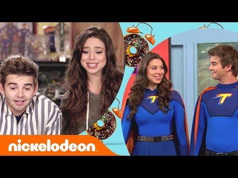 Kira Kosarin & Jack Griffo React to The Thundermans SERIES FINALE 😢  | #NickStarsIRL