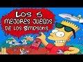 Los 5 Mejores Juegos De Los Simpsons Juegos De Los Simp