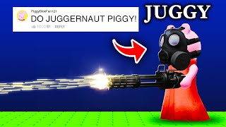10 COMMENTS Turned Into to PIGGY CHARACTERS in Roblox!
