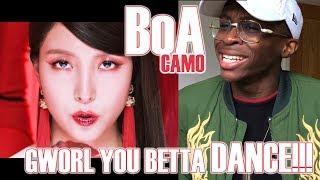 BoA   CAMO MV REACTION: BOA'S BACK, B*TCH!!! ✨👸🏻✨