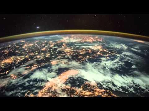 Ночь на Земле из космоса