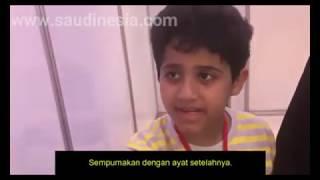 Meski Berkebutuhan Khusus, Anak Ini Mampu Menghafal Nomor Ayat dan Surah Al-Quran