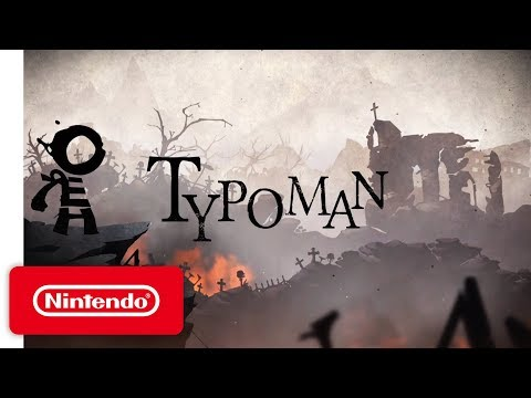 Typoman – Announcement Trailer – Nintendo Switch
