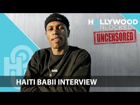 Haiti Babii talks Growing Up in Stockton on Hollywood Unlocked [UNCENSORED]