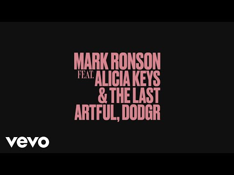 Mark Ronson Truth Feat Alicia Keys  The Last Artful Dodgr