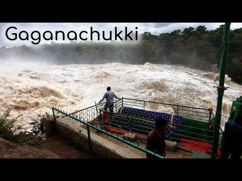 Gaganachukki Falls Aug 2019 Shivanasamudra falls Bluff fall Chamarajanagar tourism Karnataka Tourism