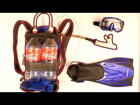 Tauchgerät aus Cola-Flaschen bauen!