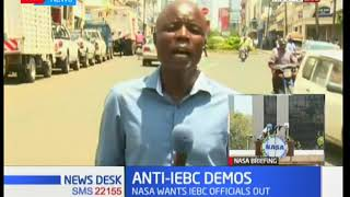 State controlled in Kisumu after NASA anti-IEBC demos