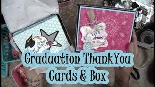 Graduation Thank You Cards & Box