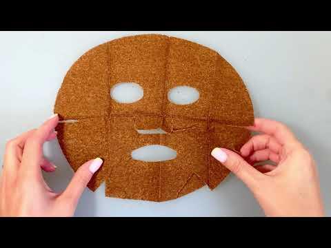 Шелковая маска с растворимыми микрогранулами морских водорослей «ЭКСТРА-ЛИФТИНГ» Dao de Mei Mesotherapy MeiTan