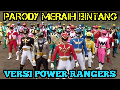Meraih Bintang - Via Vallen - Versi Nama-nama Power Rangers | Cover Parody