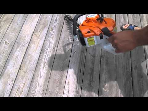 Stihl HS 46 C-E Hedge Trimmer Review