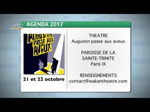 Agenda du 13 octobre 2017