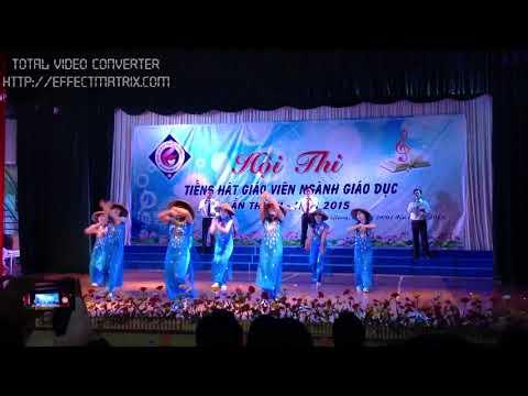 Tam ca - Tiết mục đạt giải nhì Hội thi tiếng hát giáo viên tỉnh Kiên Giang năm 2015