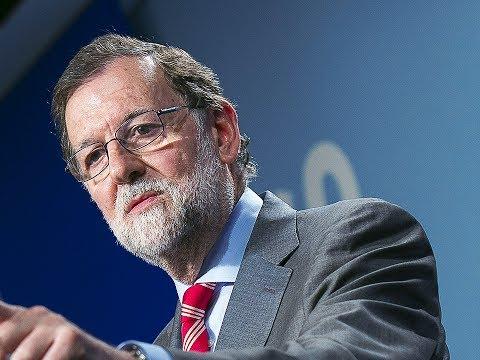 """Rajoy: """"No vamos a aceptar que Puigdemont amenace y chantajee al Estado"""
