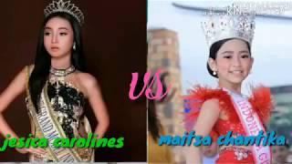 Video Tik Tok Maitsa Chantika Vs Jesica Carolines || Keyza Lestari