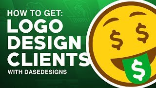 How To Get Logo Design Clients | My 5 Steps With DaseDesigns