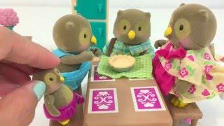 Lil Woodzeez Rabbit Birthday Party & Owl Baking Pie Playset | Itsplaytime612