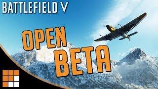 Battlefield V: OPEN BETA Window ANNOUNCED! + Player Feedback Changes